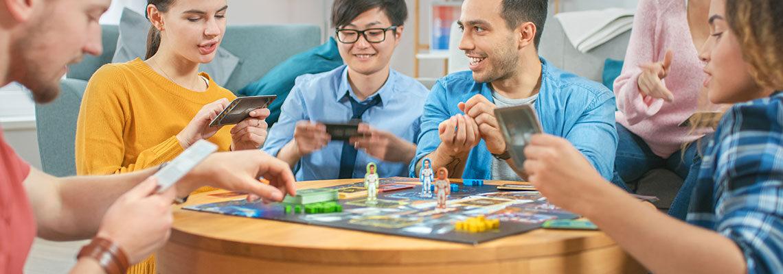 Top 5 des jeux de société préférés des familles